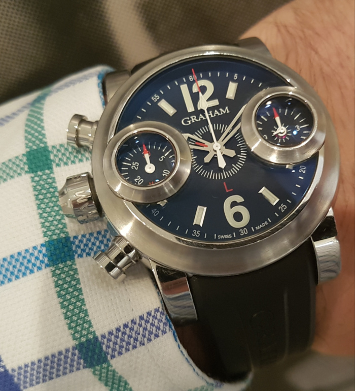 Graham Swordfish Chronograph Wristwatch