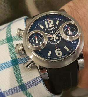 Graham Swordfish Chronograph Wristwatch