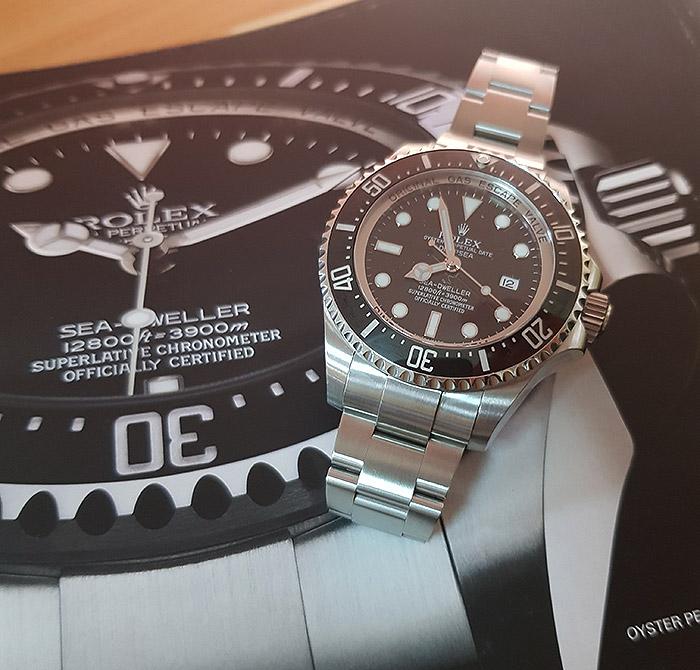 Rolex Oyster Perpetual Deepsea Sea-Dweller Wristwatch Ref. 116660