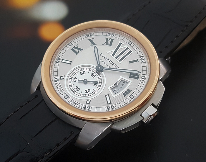 Cartier Calibre de Cartier 18K Rose Gold Ref. W7100011