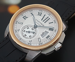 Cartier Calibre de Cartier 18K Rose Gold Wristwatch Ref. W7100011