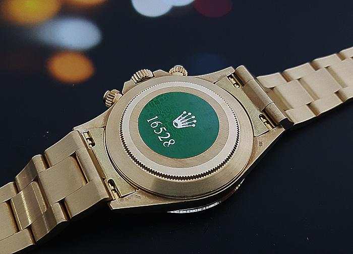 1990 Rolex Daytona 18K Gold Wristwatch Ref. 16528