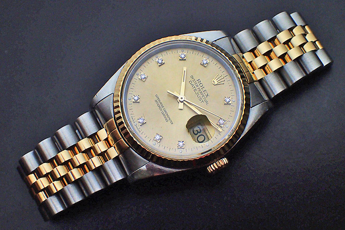 Rolex Oyster Perpetual Datejust 18K YG/SS Ref. 16233G