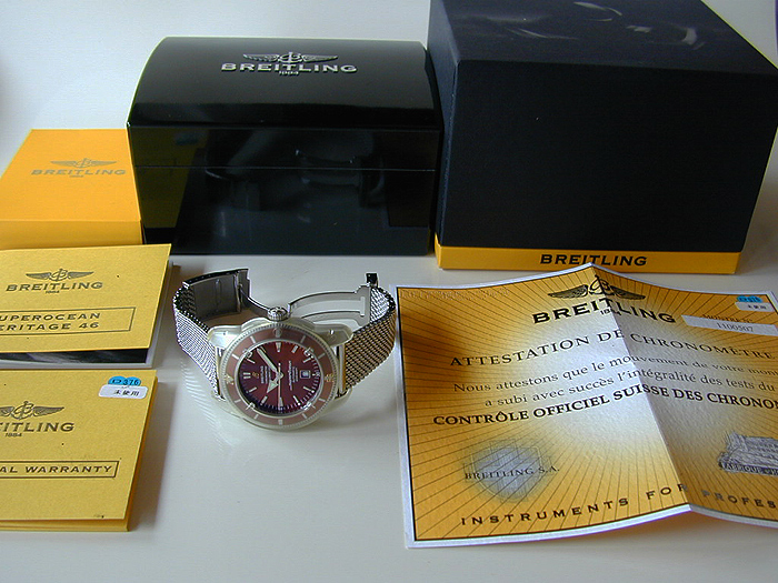 XL Breitling SuperOcean Automatic 46mm Ref. A17320