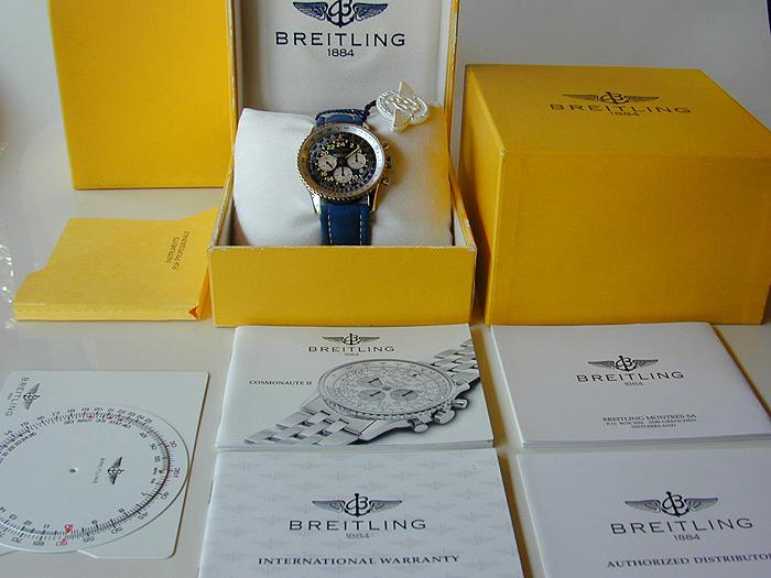 Breitling Cosmonaute II 18K Gold Ref. D12022