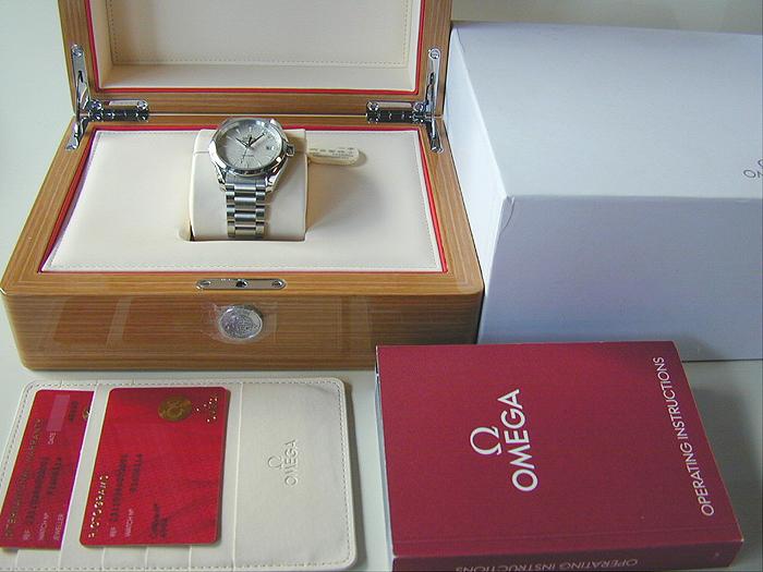Omega Seamaster Aqua Terra Quartz Wristwatch Ref. 231.10.39.60.02.001