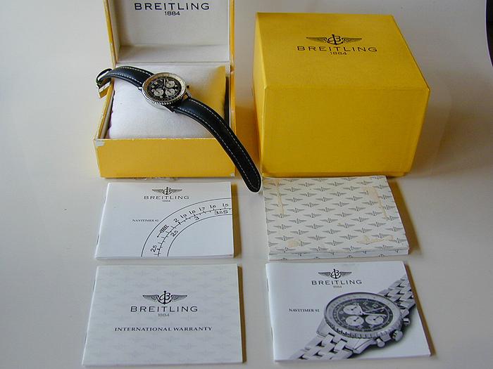 1994 Breitling Navitimer 92 Telemeter Ref. A30022
