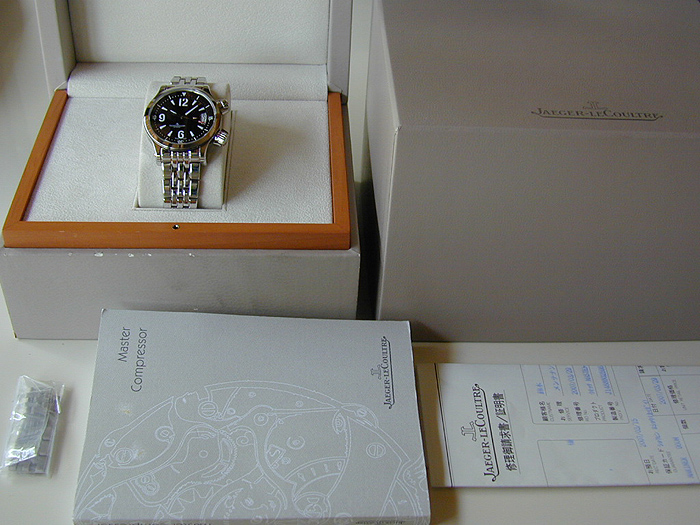 Jaeger-LeCoultre Master Compressor Mariner Wristwatch 960M Ref. 148.8.60