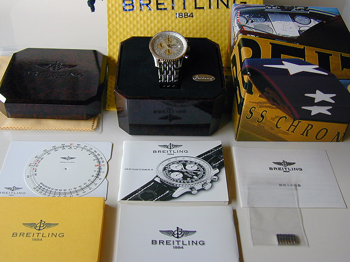 Breitling Old Navitimer II YG Ref. D13022