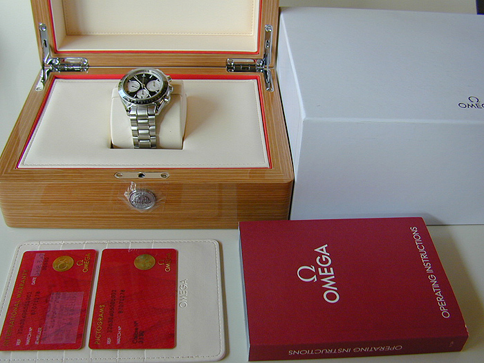 Omega Speedmaster Racing Co-Axial Chronograph Wristwatch Ref. 326.30.40.50.01.002