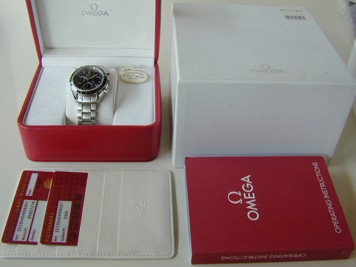 Omega Speedmaster Automatic Chronometer Wristwatch Ref. 323.30.40.40.06.001