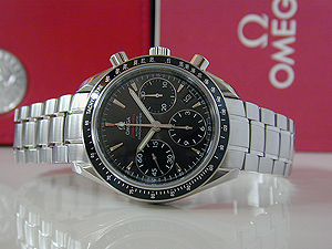 Omega Speedmaster Automatic Chronometer Wristwatch Ref. 323.30.40.40.06.001