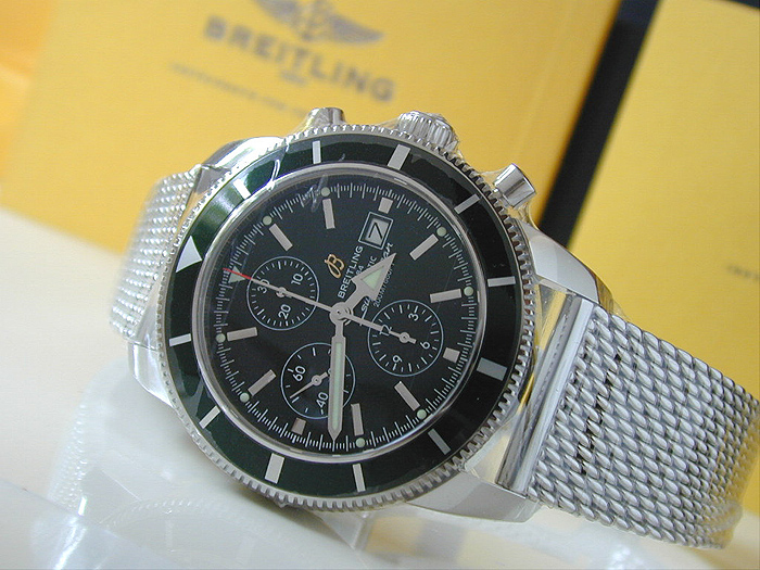 XL Breitling SuperOcean Heritage Limited Edition Wristwatch Ref. A13320