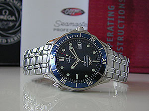 Omega Seamaster Professional James Bond 40th Anniversary Limited Edition Ref. 2537.80