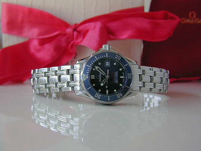 Ladies' Omega Seamaster Professional 300M Quartz  Wristwatch Ref. 2224.80