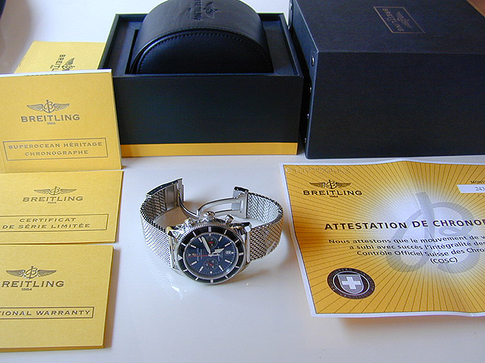 Breitling XL Superocean Heritage 125th Anniversary Limited Edition Ref. A23320