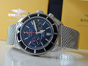Breitling XL Superocean Heritage 125th Anniversary Limited Edition Wristwatch Ref. A23320