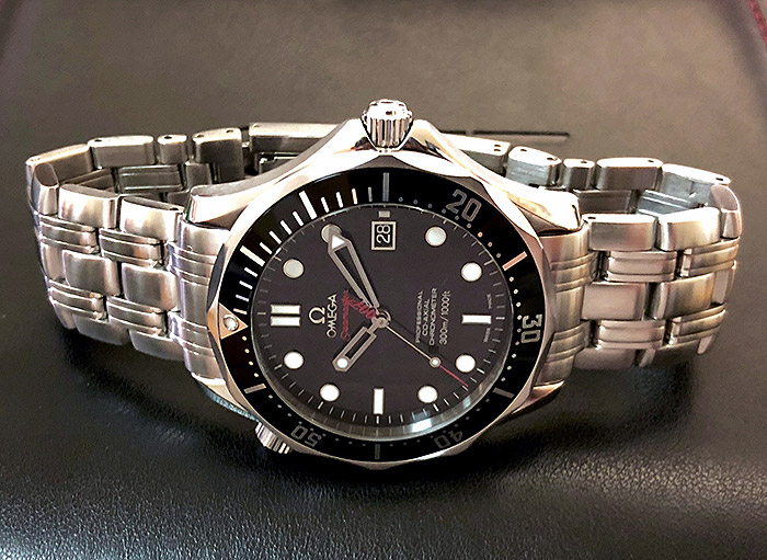 Omega Seamaster 300M Chronometer Co-Axial 007 Wristwatch Ref. 212.30.41.20.01.001