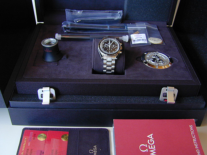 Omega Speedmaster Professional Moonwatch Wristwatch Ref. 311.30.42.30.01.006