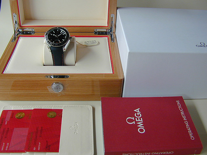 Omega Seamaster Planet Ocean 600M Co-axial GMT Ref. 232.32.44.22.01.002