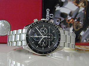 Omega Speedmaster Professional Moonwatch Moonphase Chronograph Ref. 3576.50