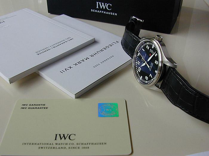 IWC Pilot's Mark XVII Automatic Ref. IW326501