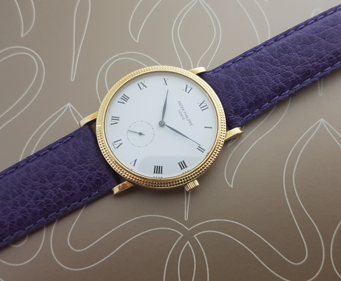 1989 Patek Philippe Calatrava 18K YG Wristwatch Ref. 3919