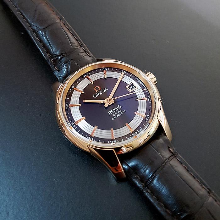 Omega De Ville Hour Vision Co-Axial 41mm 18K RG Wristwatch Ref. 431.63.41.21.13.001
