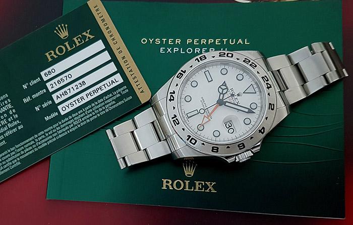 Rolex Explorer II Wristwatch Ref. 216570