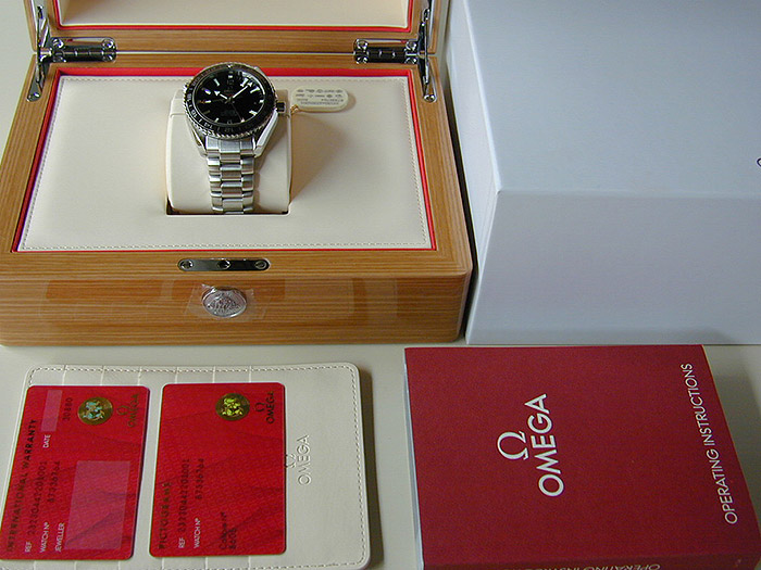 Omega Seamaster Planet Ocean 600M Co-Axial GMT Ref. 232.30.44.22.01.001