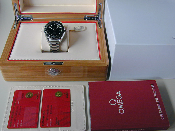 Omega Seamaster Planet Ocean 600M Co-Axial GMT Wristwatch Ref. 232.30.44.22.01.001