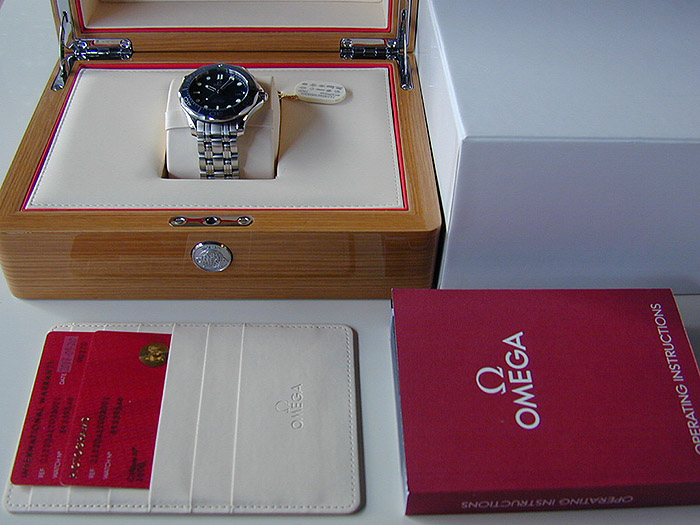 Omega Seamaster Professional Men's Co-Axial Wristwatch Ref. 212.30.41.20.03.001