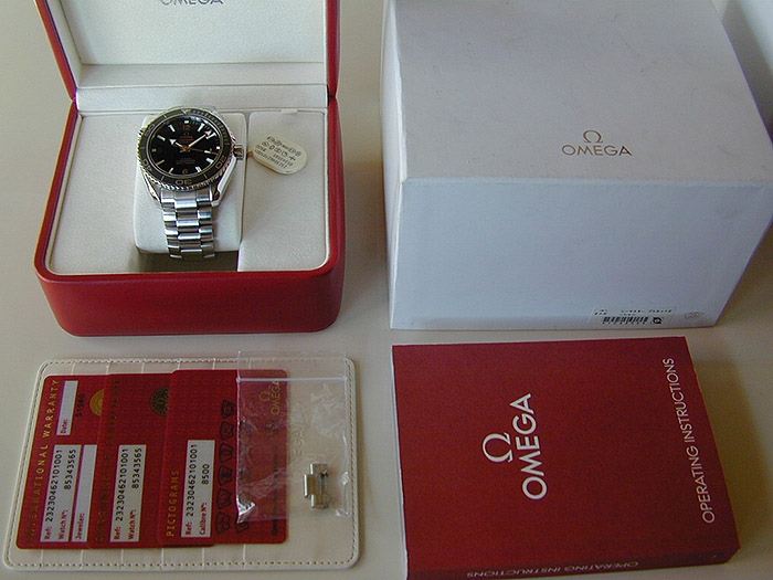 Omega Seamaster Planet Ocean Co-Axial Wristwatch Ref. 232.30.46.21.01.001