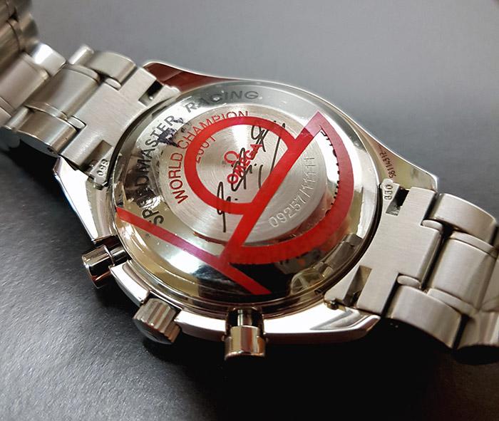 Omega Speedmaster Date Michael Schumacher Limited Edition Wristwatch Ref. 3519.50