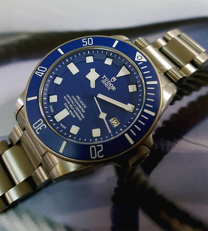 Tudor Pelagos Chronometer Blue Automatic Wristwatch Ref. 25600TB