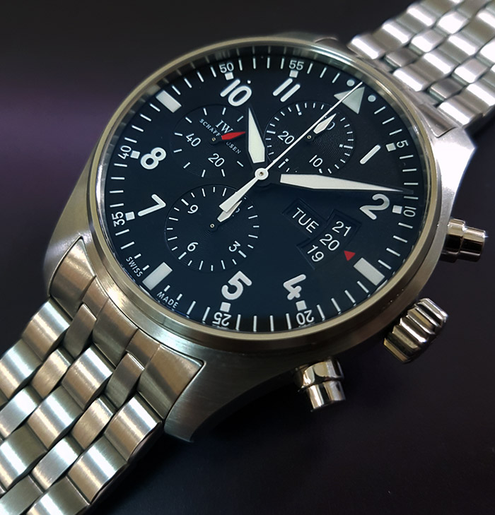 IWC Pilot Chronograph Automatic Ref. IW371704M
