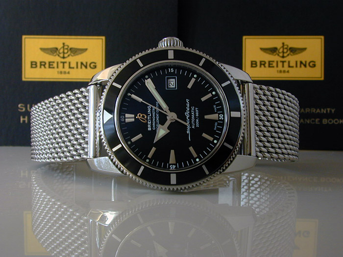 Breitling SuperOcean Heritage Wristwatch 42mm Ref. A17321