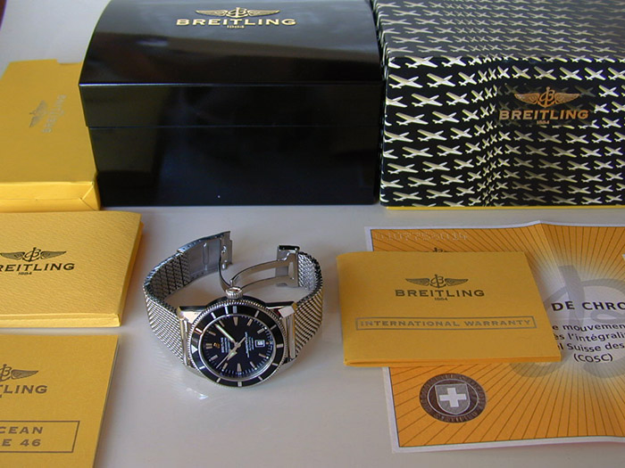 Breitling XL SuperOcean Automatic 46mm Wristwatch Ref. A17320