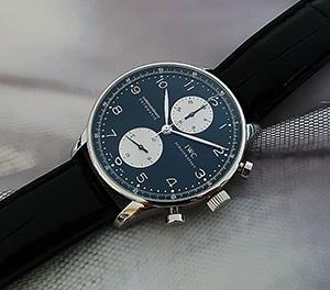 IWC Portuguese Chronograph Wristwatch Ref. IW371404