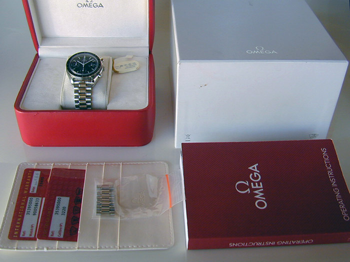 Omega Speedmaster Automatic Wristwatch Ref. 3539.50