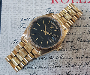 Rolex Day-Date 18K YG Wristwatch Ref. 18038