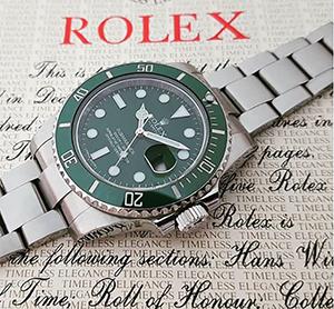 Rolex Submariner Hulk Ref. 116610LV