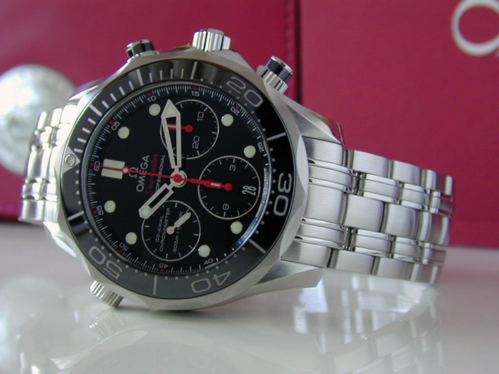 Omega Seamaster Diver 300M Co-axial Chronograph Wristwatch Ref. 212.30.42.50.01.001
