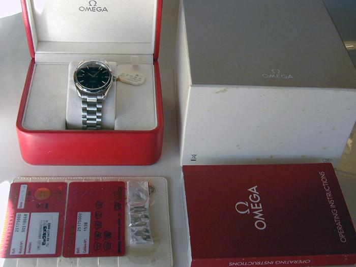 Omega Seamaster Aqua Terra Quartz Wristwatch Ref. 2517.50