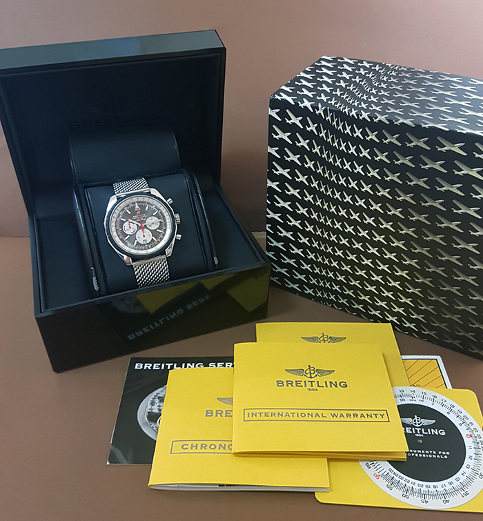 Breitling Chrono-Matic 49 Chronograph Wristwatch Ref. A1436002