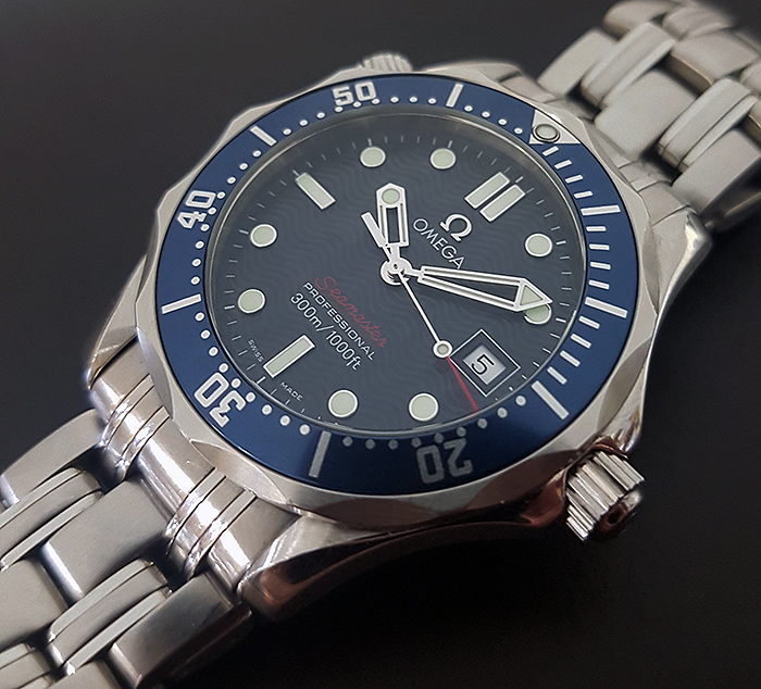 Omega Seamaster Professional 300M Quartz Wristwatch Ref. 2223.80