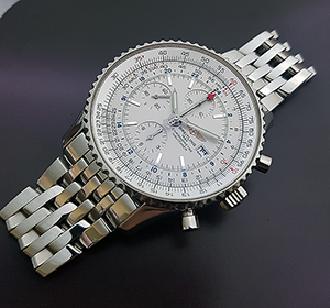Breitling 1884 Chronometre Navitimer World Wristwatch Ref. A24322