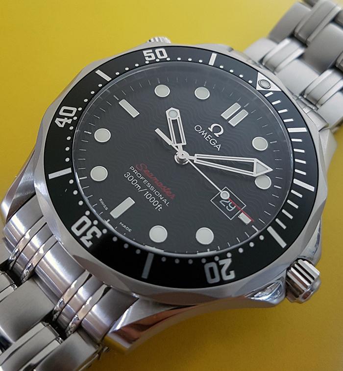 Omega Seamaster 300M Quartz Wristwatch Ref. 212.30.41.61.01.001