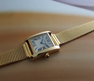 Ladies' Cartier Tank Francaise 18K Quartz Ref. W5000256