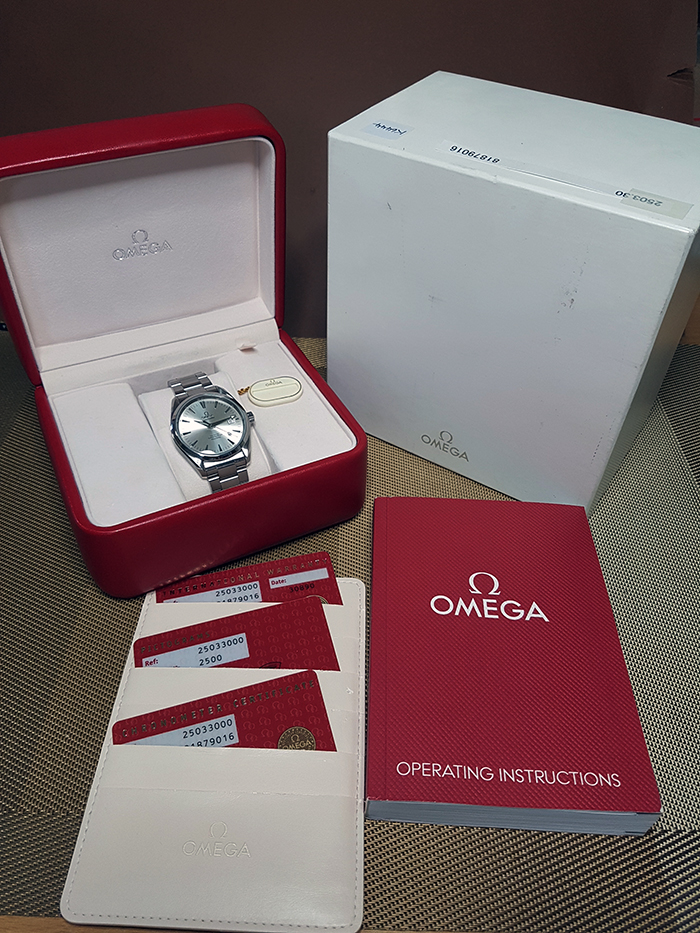 Omega Seamaster Aqua Terra Chronometer Ref. 2503.30